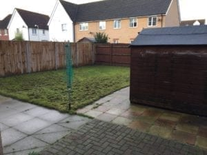 Garden re-design before
