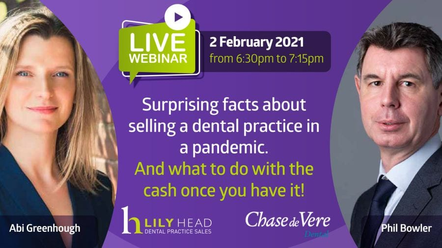 Selling A Dental Practice in a Pandemic - Lily Head Dental Practice Sales