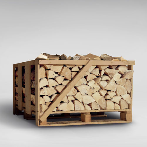 Deluxe Ash Firewood Logs - Compact Crate